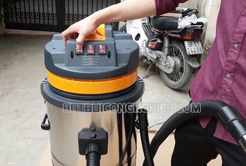 Máy hút bụi công nghiệp khô, ướt Palada PD80H 3 motor