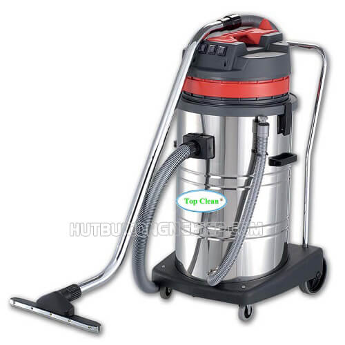 Máy hút bụi Top Clean này thường được sử dụng trong các nhà xưởng, siêu thị,