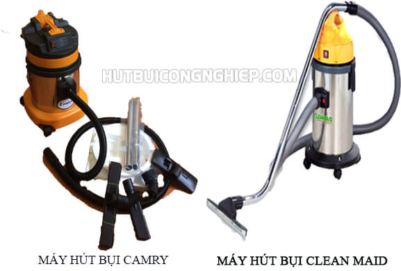 Tìm hiểu hai máy hút bụi Camry và Clean Maid cùng công suất 1200W