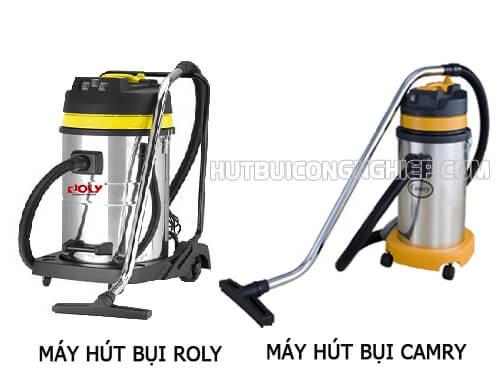 So sánh ưu điểm hai loại máy hút bụi Camry và Roly
