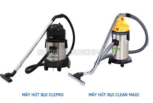 Tìm hiểu hai máy hút bụi Clean Maid và Clepro có cùng mức giá 3,4 triệu đồng
