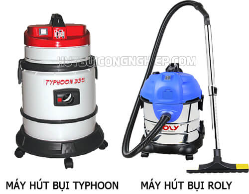 Tìm hiểu hai sản phẩm máy hút bụi Roly và Typhoon có cùng công suất 1400W