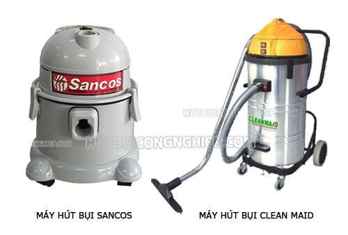 Máy hút bụi Clean Maid và Sancos, nên đầu tư mua thiết bị nào?