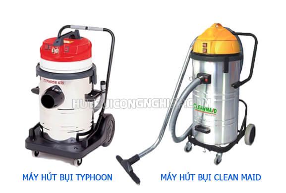 Máy hút bụi Clean Maid và Typhoon, nên sử dụng thương hiệu nào?