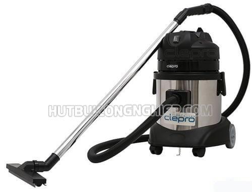 Máy hút bụi khô - ướt Clepro S1/15 ứng dụng trong ngành hóa chất cơ khí, dược phẩm