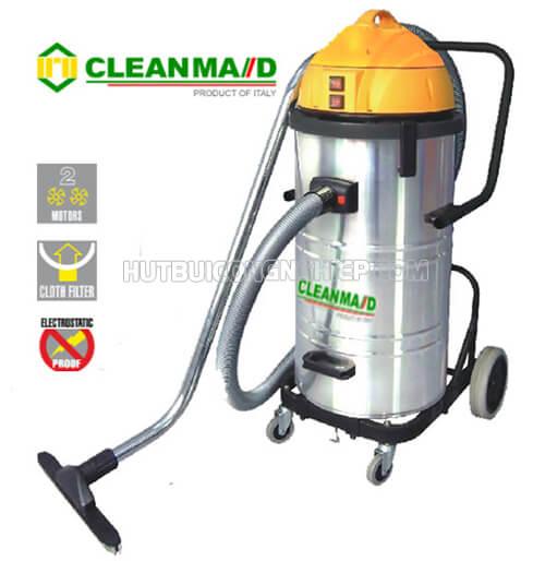 Máy hút bụi Clean Maid thiết kế gọn nhẹ, sử dụng thông minh