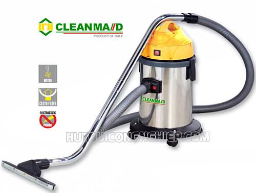 Máy hút bụi Clean Maid T15 phù hợp sử dụng tại nhà máy, khách sạn và gia đình