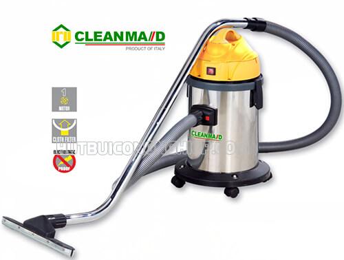 Máy hút bụi Clean Maid T15 thiết kế phù hợp vệ sinh không gian nhỏ