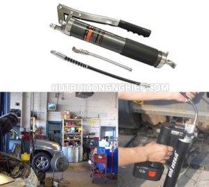 Máy bơm mỡ mini được ứng dụng trong nhiều công việc khác nhau