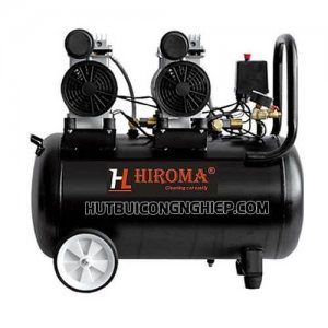 máy nén khí hiroma không dầu