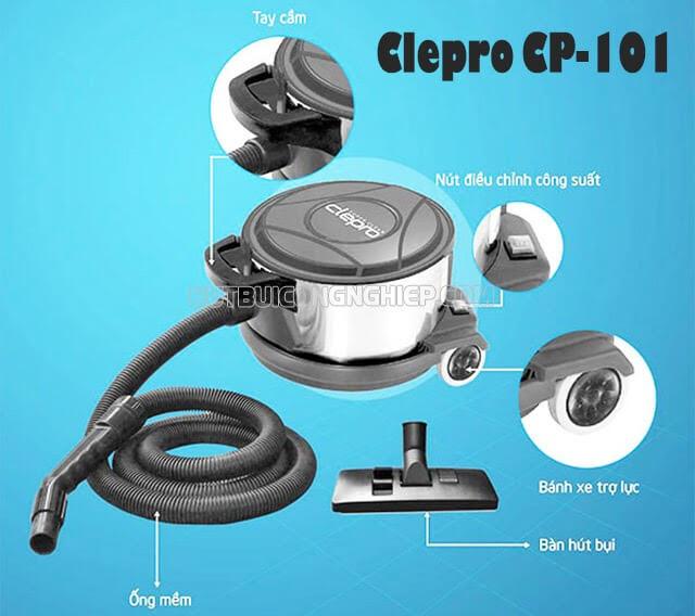 máy hút bụi công nghiệp Clepro CP-101