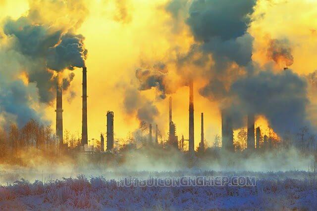 bụi mịn xuất phát chính từ các nhà máy lớn