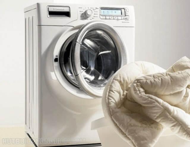 cách giặt chăn ga bằng máy giặt