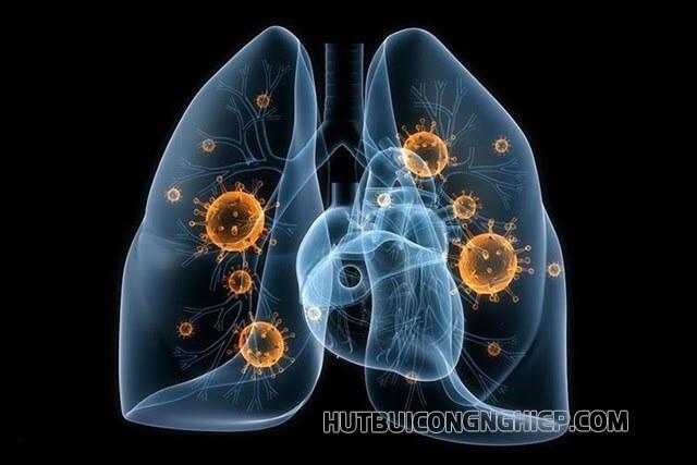 bụi mịn tác hại đến phổi