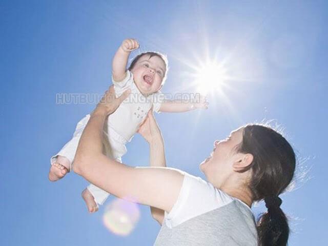 tia UV giúp thúc đẩy quá trình tổng hợp vitamin D3