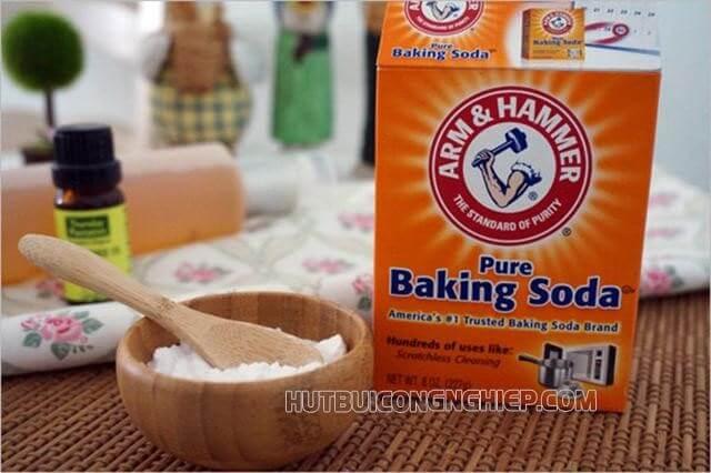 bột baking soda được dùng nhiều nhất, pure baking soda được nhiều người tin dùng