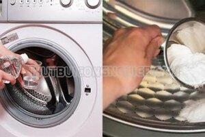 [MẸO HAY] Cách làm sạch máy giặt bằng baking soda an toàn