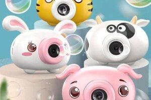 Các loại máy ảnh thổi bong bóng cho bé yêu