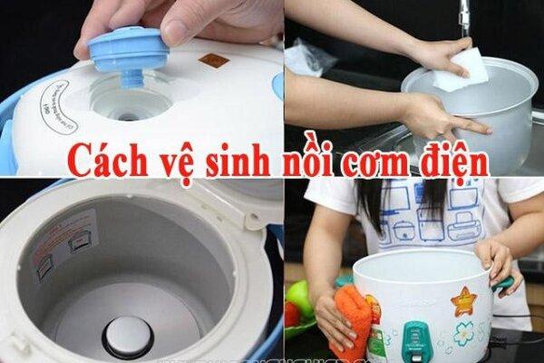 Cách vệ sinh nồi cơm điện dễ dàng có thể bạn chưa biết