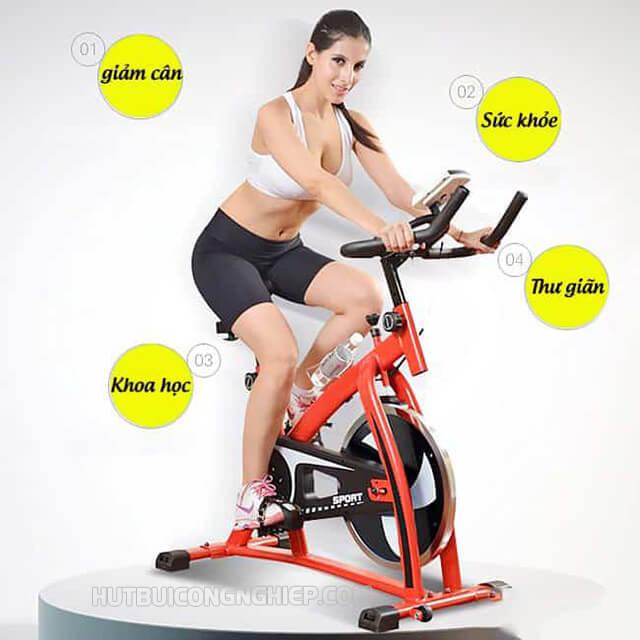 Những lợi ích khi tập luyện bằng xe đạp tại nhà