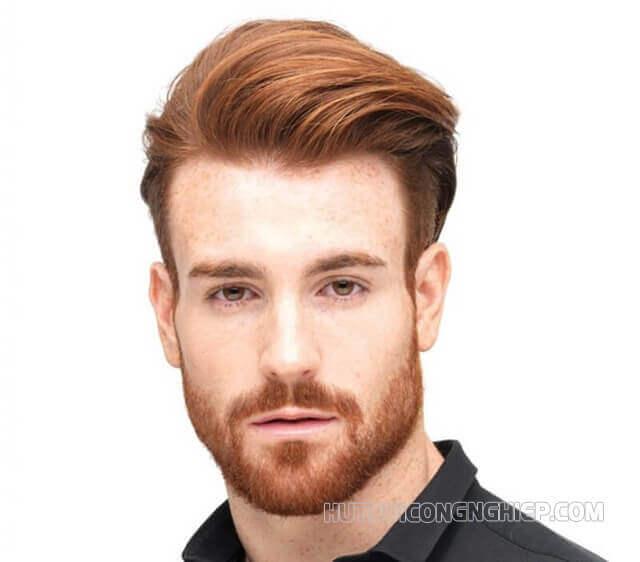 màu tóc hot trend 2021 nam