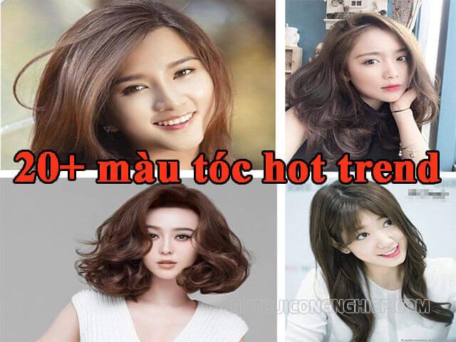 🌻 20+ màu tóc【Hot Trend】2021 đẹp, tôn da cho nữ và nam giới
