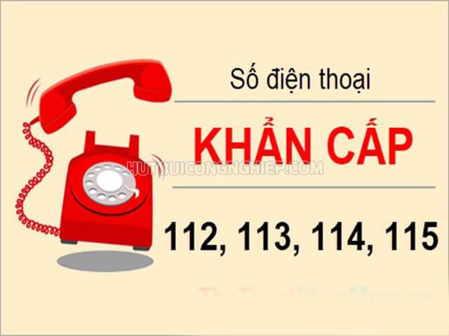 Các số điện thoại khẩn cấp của Việt Nam 115, 114, 113, 112 là gì?