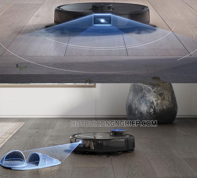 robot hut bụi Ecovacs Deebot OZMO T8 Aivi
