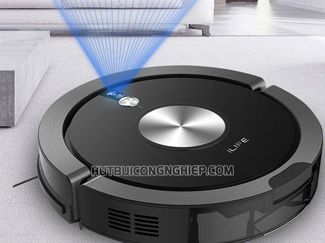 Robot hút bụi Ilife x800- Sản phẩm vệ sinh sàn nhà thông minh 2021