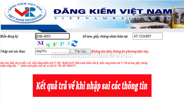 kết quả tìm tên chủ xe qua biển số online