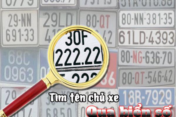 Tìm tên chủ xe qua biển số – Tra cứu chính xác chỉ trong 2 phút