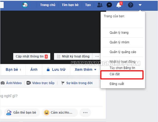 cách hiển thị số người theo dõi trên facebook bản PC