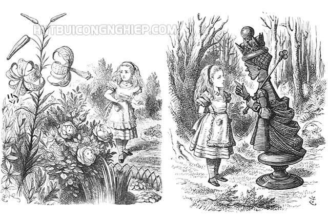 Các tác phẩm của hiệp sĩ John Tenniel
