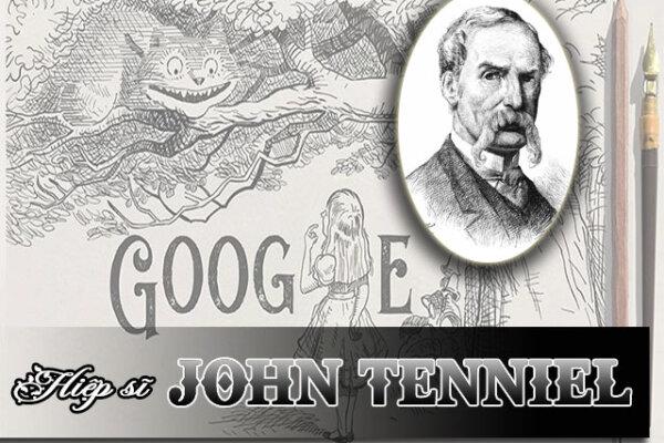 Vinh danh Hiệp sĩ John Tenniel trên Google Doodle