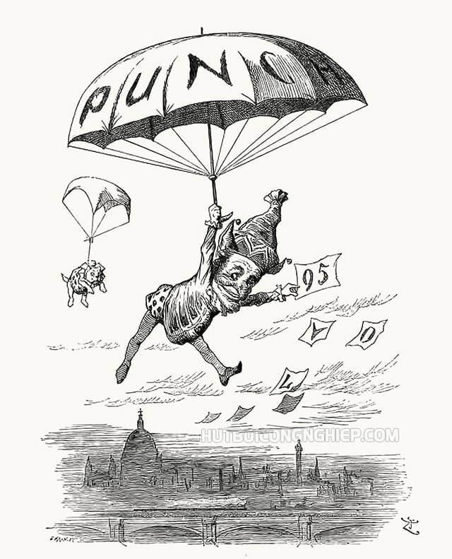 Hiệp sĩ John Tenniel trở thành họa sĩ cho tạp chí Punch