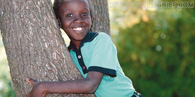 Nụ cười rạng rỡ của Nkosi Johnson
