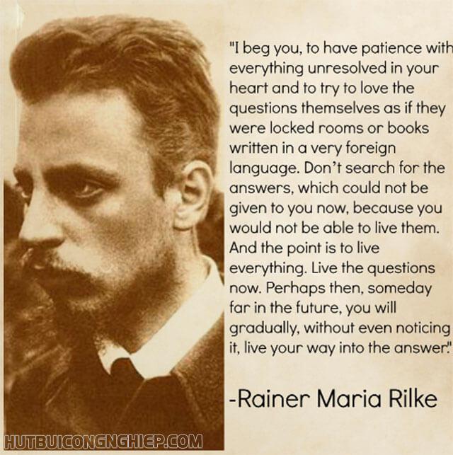 Hồn thơ đậm tính triết lý nhân sinh Rainer Maria Rilke