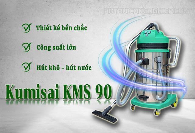 máy hút bụi công nghiệp Kumisai KMS 90
