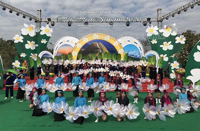 Lễ hội hoa sở Bình Liêu 2020 tại Quảng Ninh