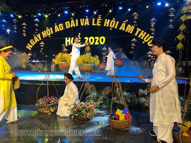Lễ hội Áo dài và Ẩm thực Huế 2020