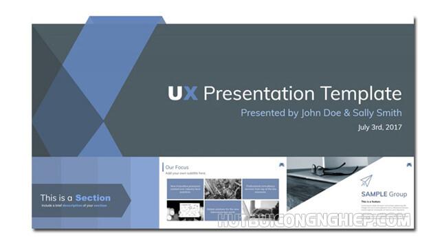 Nền của mẫu slide