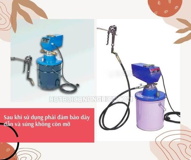 dụng cụ bơm mỡ bằng điện 24v