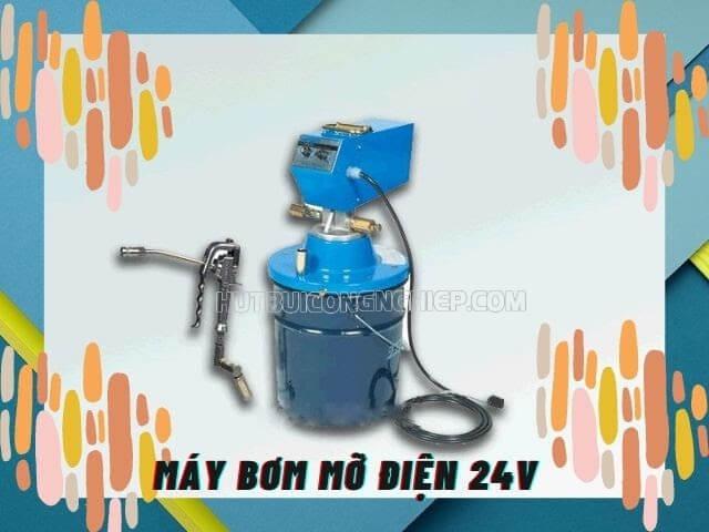 bơm mỡ điện 24v