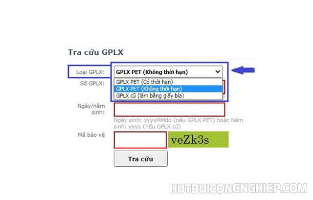 gplx gov.vn tra cứu giấy phép lái xe