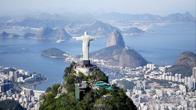 Brazil xếp thứ 6 về dân số