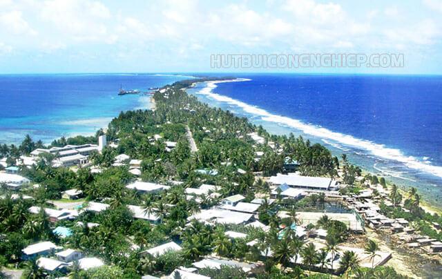 Tuvalu chỉ với hơn 11 nghìn người sinh sống